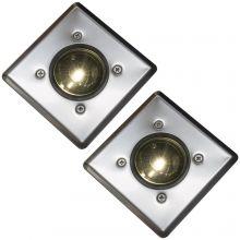 Oxbridge Deck Lights - WARM WHITE x 2