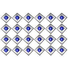 Oxbridge Deck Lights - BLUE x 24