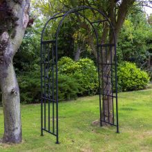 Woodside Traditional Metal Garden Rose Arch