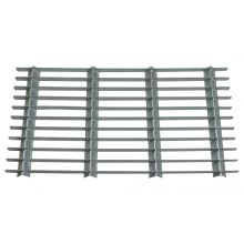 Woodside Medium Rectangle Heavy Duty Galvanised Steel Garden Door Mat