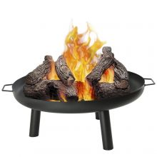 Woodside Metal Garden Fire Bowl