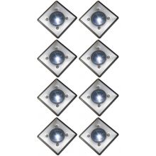 Oxbridge Deck Lights - WHITE x 8