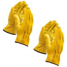 Woodside Heavy Duty Thorn Proof Protective Gardening/Work Gloves (2 pairs)