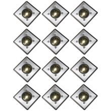 Oxbridge Deck Lights - WARM WHITE x 12