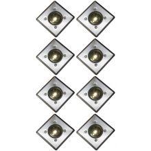 Oxbridge Deck Lights - WARM WHITE x 8